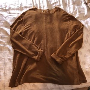 Tops - Rusty Orange Long Sleeve
